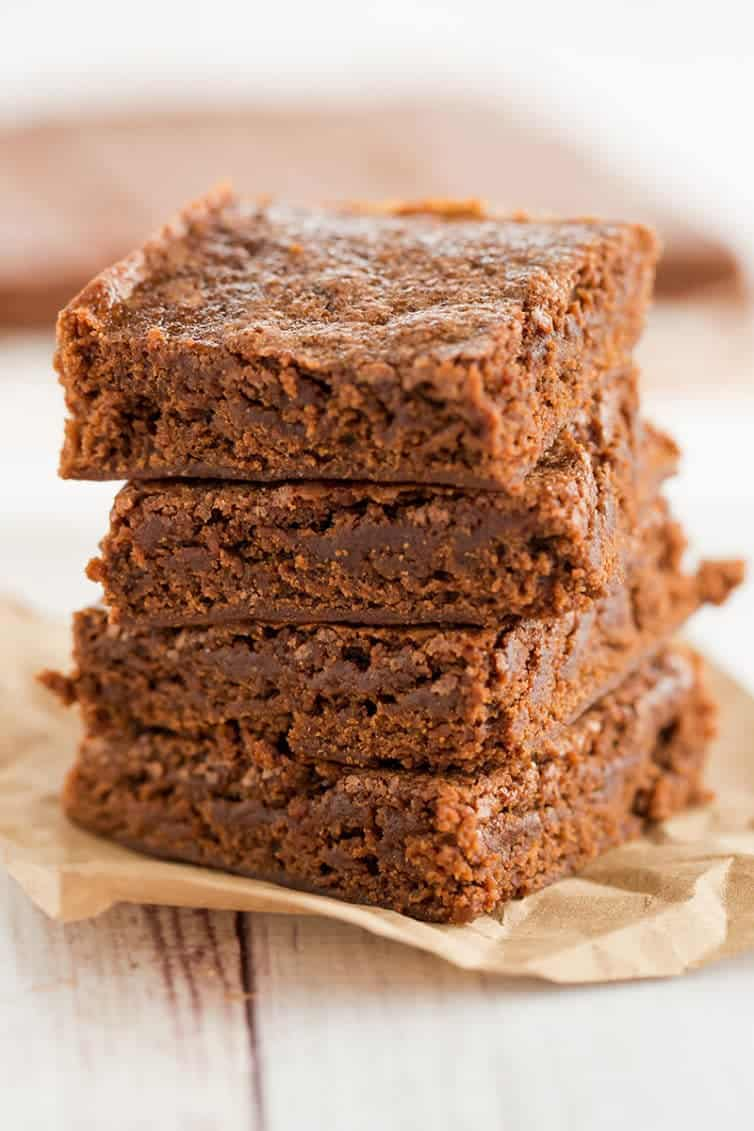 Hershey's Best Brownies - A quick and easy one-bowl brownie recipe that produces dense and fudge-like brownies.