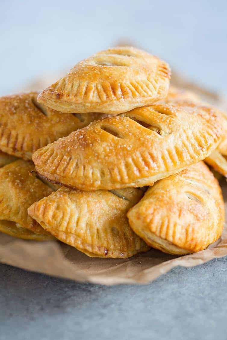 Rustic Little Apple Pies