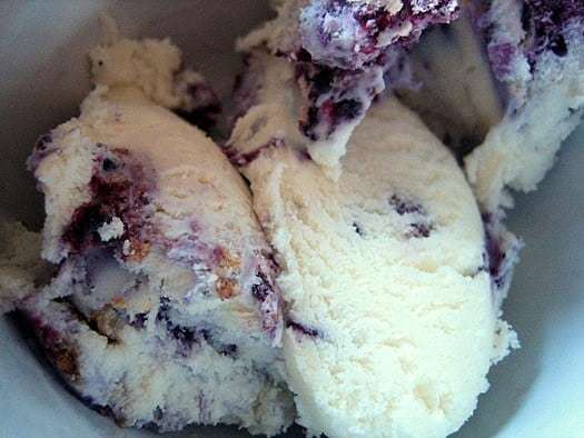 Blueberry Muffins With Icing Blueberry Cheesecake Ice Cream