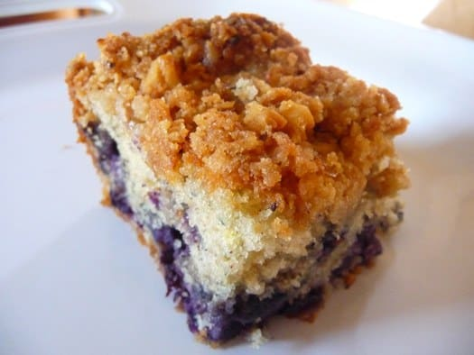 Blueberry Crumb Coffee Cake Images & Pictures - Becuo