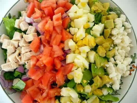 cobb-salad-prep