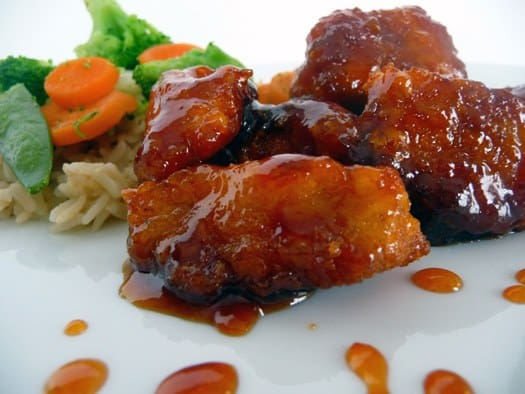 Sweet and Sour Chicken | Brown Eyed Baker