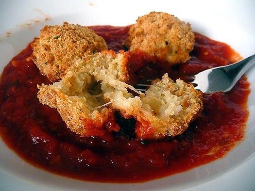 Arancini-Italian-rice-balls-inside