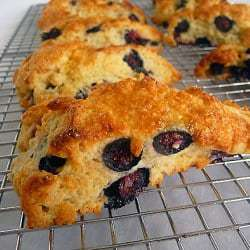 Blueberry-Buttermilk Scones