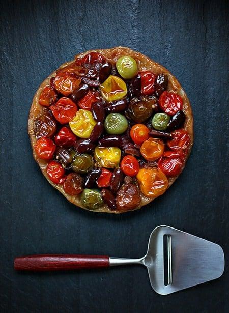 Caramelized Tomato Tart @ zested by Liz