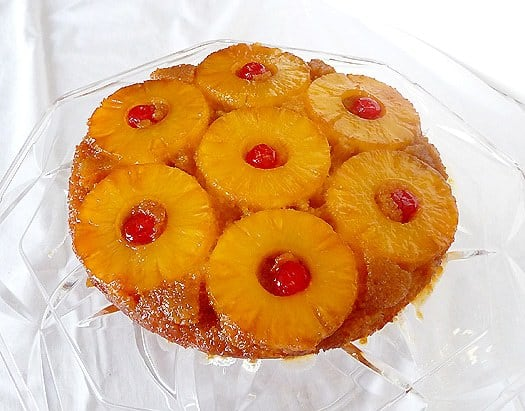 Pineapple Upside-Down Cake: LiveSTRONG With a Taste of Yellow 2009 ...