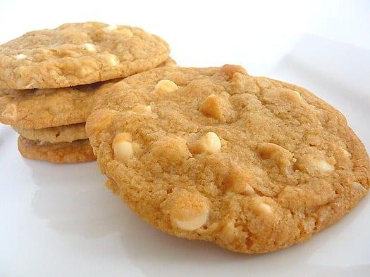 White Chocolate Macadamia Nut Cookies Starbucks Calories