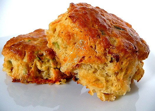 bite size bacon and cheese scones recipes dishmaps bacon cheese scones ...