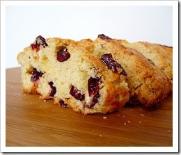 Cranberry-White Chocolate Chip Almond Biscotti