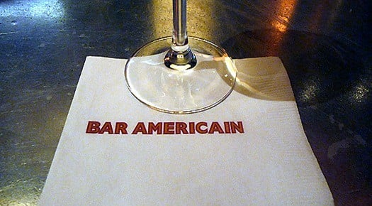 NYC Bar Americain