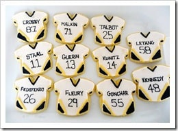 Pittsburgh Penguins Sugar Cookies
