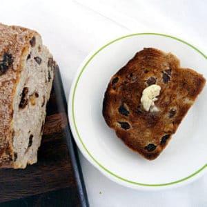 Cinnamon Raisin Walnut Bread Brown Eyed Baker