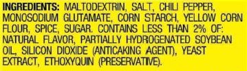 Taco Seasoning Mix Ingredients