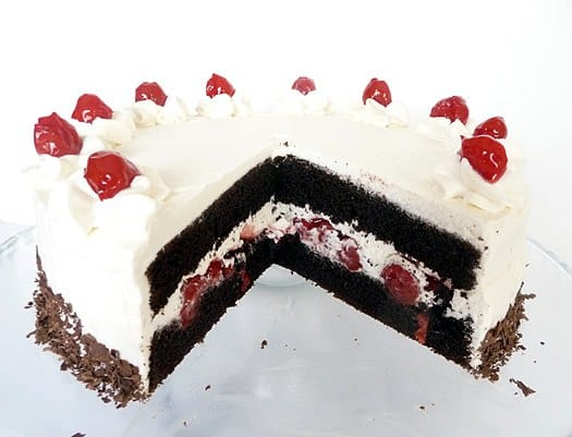 Cake Black Forest How To Make : Black Forest cake