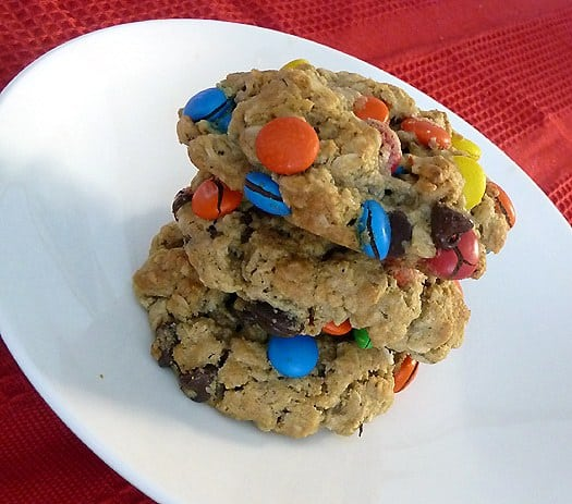 Monster Cookies | Brown Eyed Baker