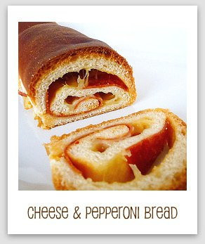 Soft Cheese and Pepperoni Bread