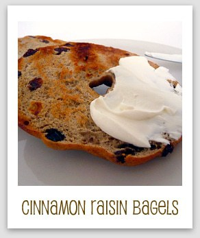 Cinnamon Raisin Bagels