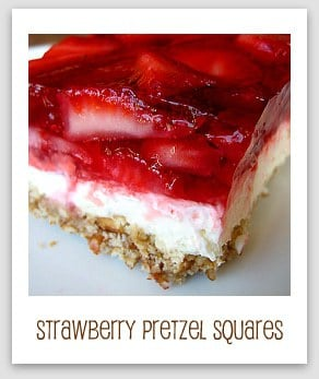 ... pretzel dogs strawberry pretzel squares strawberry pretzel squares