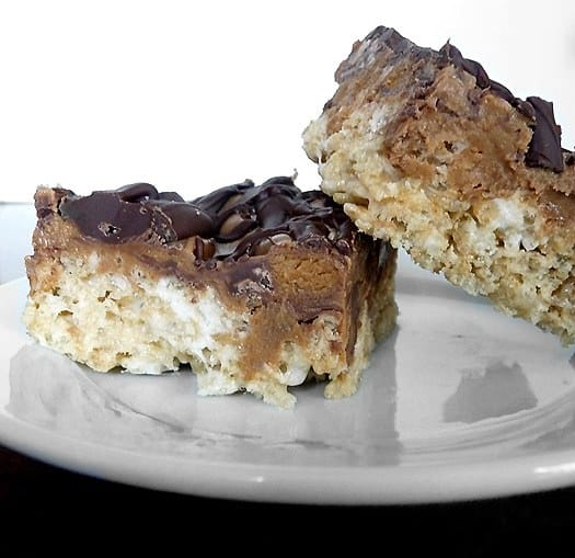 Peanut Butter Cup Rice Krispies Treats