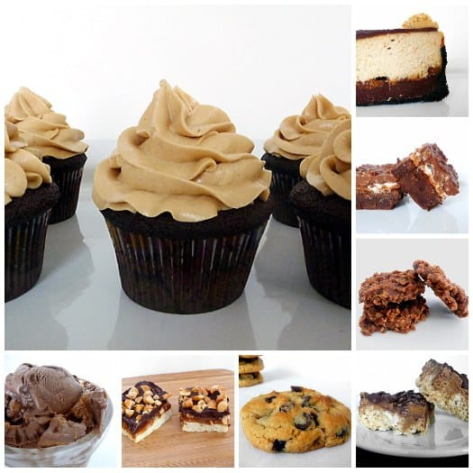 Chocolate & Peanut Butter Recipes
