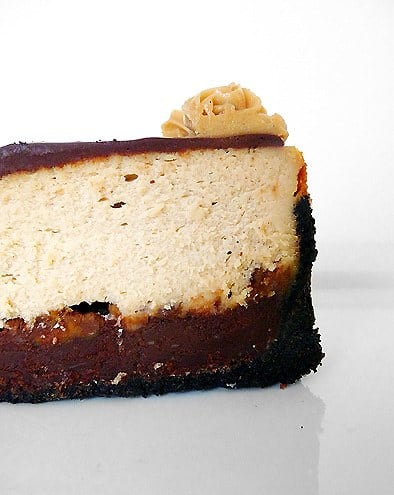 Peanut Butter-Fudge Cheesecake