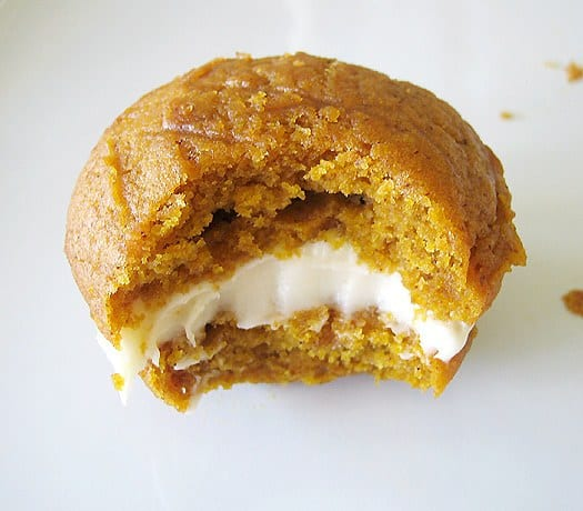 Pumpkin Whoopie Pies with Maple-Cream Cheese Filling | Brown Eyed ...