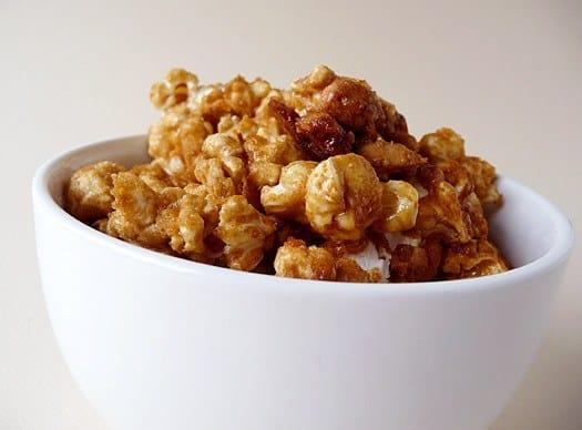 Homemade Cracker Jack | Caramel Peanut Popcorn