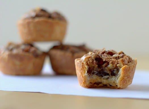 Pecan Tassies | Christmas Cookie Recipes | Brown Eyed Baker