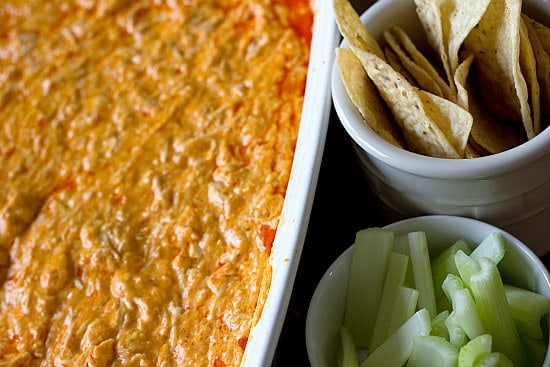 how to make chicken wing dip without cream cheese