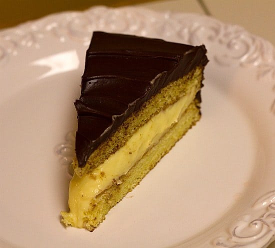 Boston Cream Pie | Brown Eyed Baker