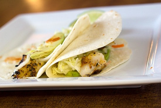 Grilled Fish Tacos Recipe | Brown Eyed Baker