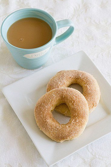 Baked Doughnuts with Cinnamon-Sugar | Donut Recipe