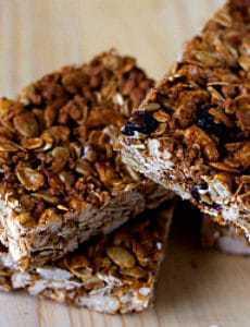 Crunchy Good-For-You Granola Bars