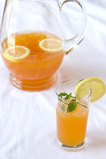 Ginger-Tea Lemonade Recipe