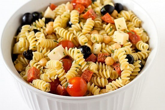 Italian Sandwich Pasta Salad Pictures to pin on Pinterest