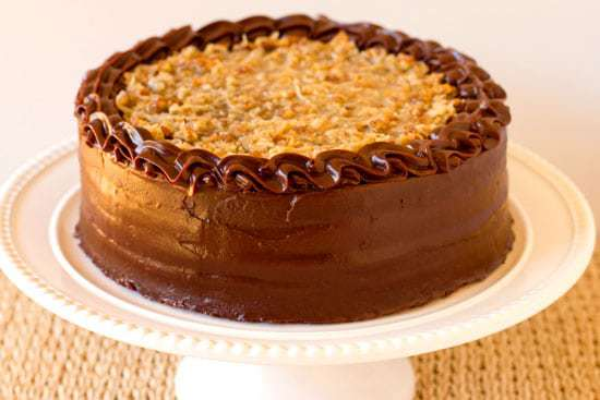 Top 10 List: Favorite Cake Recipes >> German Chocolate Cake | browneyedbaker.com