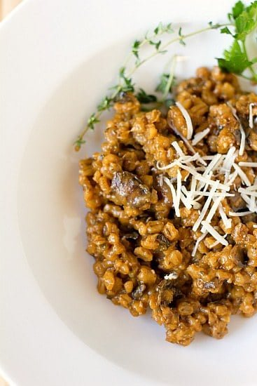 love risotto like love risotto the sausage and mushroom risotto that ...