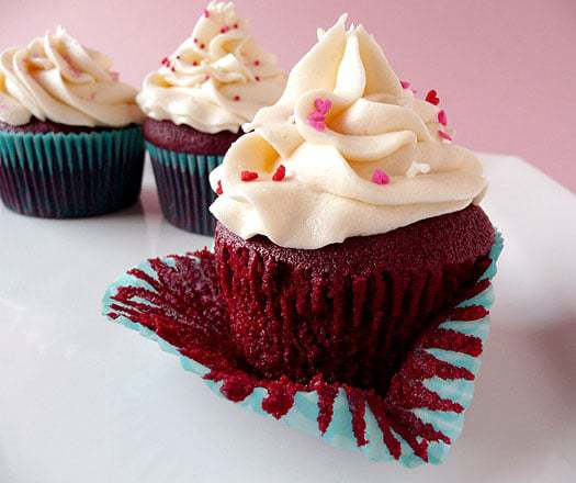 Red Velvet Cupcakes | browneyedbaker.com