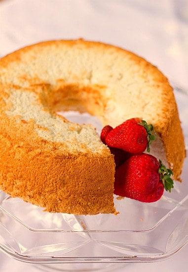 Angel Food Cake Recipe | Brown Eyed Baker