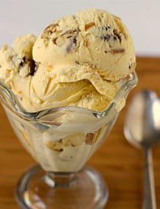Date, Rum & Pecan Ice Cream