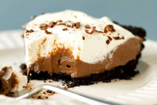 Top 10 Best Pie & Tart Recipes :: Chocolate Cream Pie | browneyedbaker.com