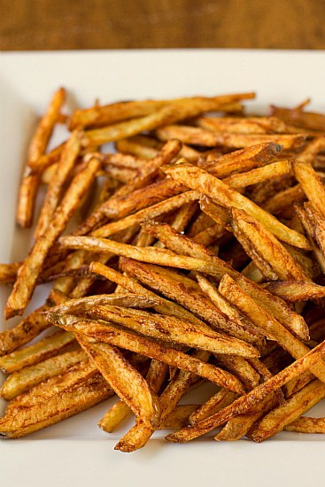 To Fry French Fries Easy homemade french fries brown eyed baker