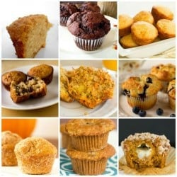 The Top 10 Best Muffin Recipes on Brown Eyed Baker! | browneyedbaker.com
