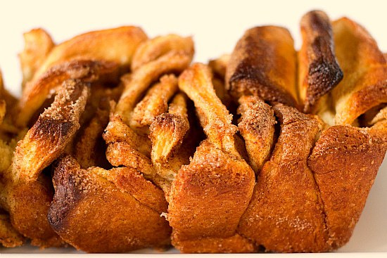 Cinnamon Sugar Pull-Apart Bread | Brown Eyed Baker