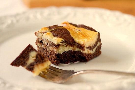 Cream Cheese Brownies | Cheesecake Brownies