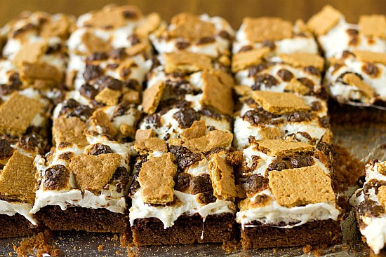 Brown Eyed Baker S'mores Brownies | Brown Eyed Baker