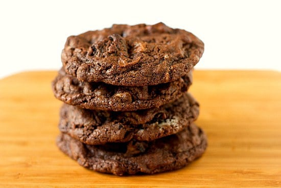 Triple Chocolate Oreo Chunk Cookies | Brown Eyed Baker
