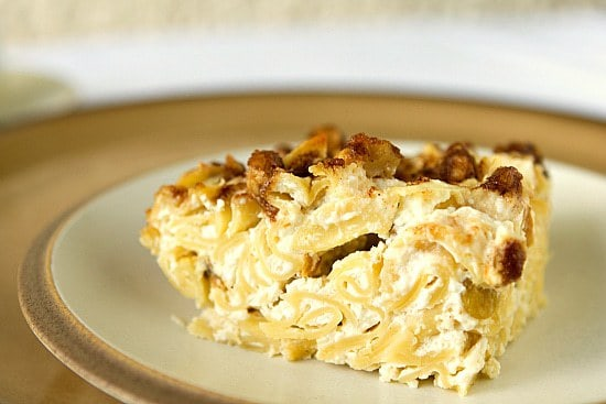 Noodle Kugel | Brown Eyed Baker