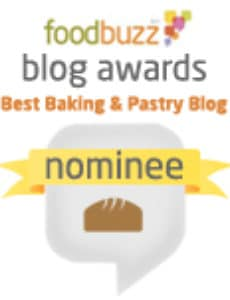 Best Baking & Pastry Blog Nominee