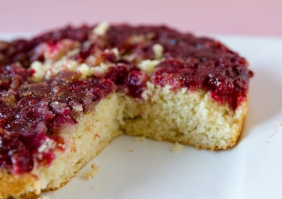 Cranberry Upside-Down Cake | Brown Eyed Baker